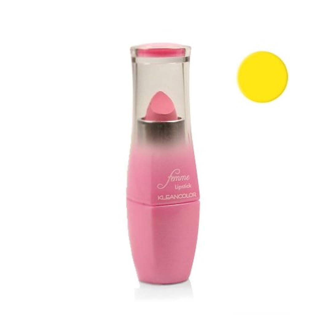 語高揚した猛烈な(6 Pack) KLEANCOLOR Femme Lipstick - Lighting Struck (並行輸入品)