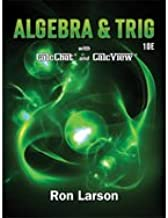 Algebra and Trigonometry Ron Larson 10th Edition Hardcover