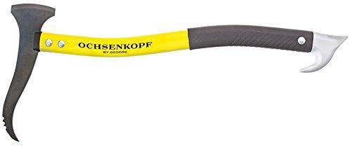 OCHSENKOPF Alu-Handsappie, Stiel aus Aluminiumlegierung, 500 mm, 560 g, für Holz, Forstwerkzeug, OX 172 SCH-0500