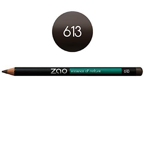 ZAO Holzstift 613 blond braun Kajal Eyeliner Augenbrauenstift Lipliner (bio, vegan) 101613