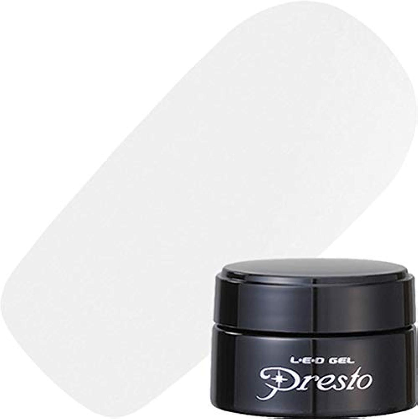 第三気分料理presto(プレスト) presto リキッドライナー ホワイト 2.7g UV/LED対応 ジェルネイル