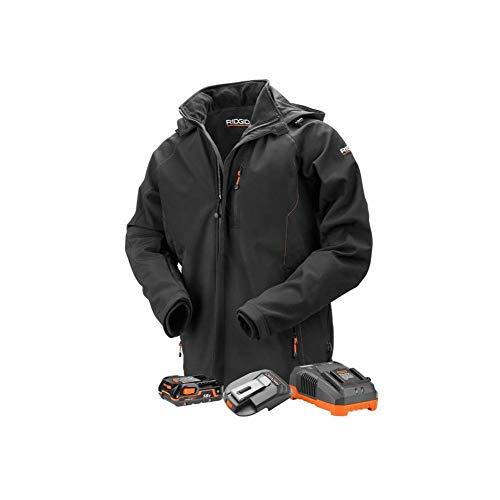 Ridgid Men's 18-Volt Lithium-Ion Cordless Heated Jacket with Battery (Medium)