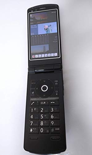 N-02C ブラック ドコモ 白ロム 携帯