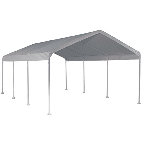 ShelterLogic 12' x 20' SuperMax Heavy Duty Steel Frame Quick and Easy...