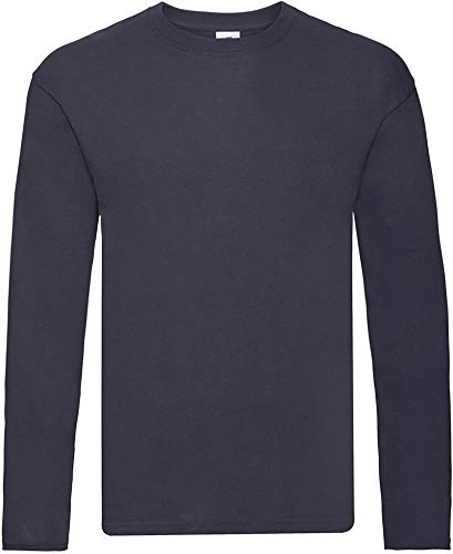 Ugsgdhgsdd Mens Original Long Sleeve T-Shirt,Deep Navy,S