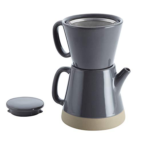 Rachael Ray Ceramic Pour-Over Coffee Set,...