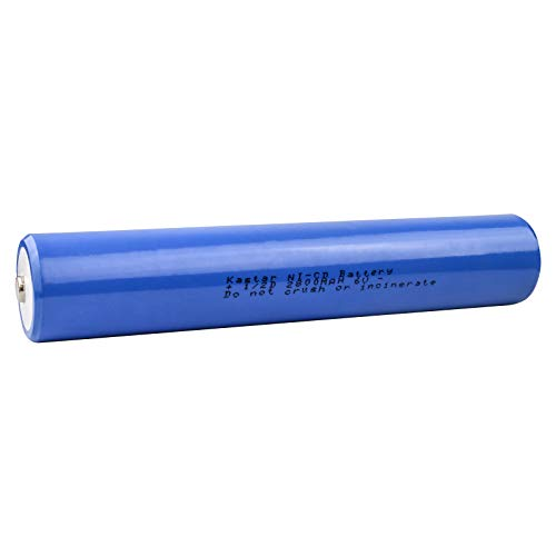 Maglite ESR4EE3060 Flashlight Battery FLB-NCD-4 (5 1/2 D Stick Ni-CD 6V 2500mAh) Battery - Replacement For Streamlight, GE/Ericsson, Gates, Maglite Battery