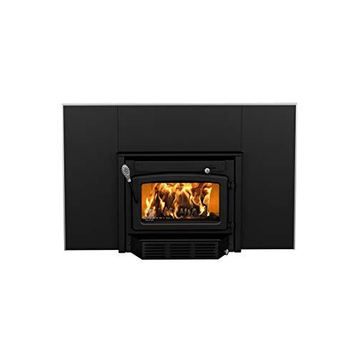 Century Heating High-Efficiency Wood Stove Fireplace Insert - 65,000 BTU, EPA-Certified, Model# CB00005
