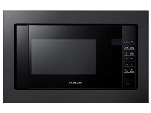 Samsung FG77SUB/XEG Einbau-Mikrowelle mit Grill Schwarz 20L Crusty Plate