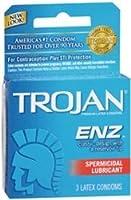 Trojan -Enz潤滑ラテックスコンドーム - 3CT