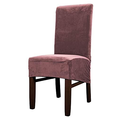 Large Stuhlabdeckung Chair Covers Für Das Esszimmer Soft Stretch Seat Slipcover Für Den Large Dining Chair Waschbarer,Abnehmbarer Stuhlschutz,F-2PCS