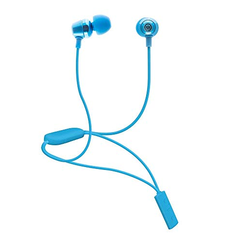 Wicked Audio Bandido Wireless Bluetooth Earbuds with Microphone and Track Control (Blue)