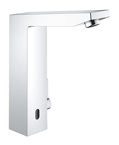 Grohe Eurocube E, Badarmatur - Elektronische Waschtischarmatur, 230 V, mit Mischung, ohne Ablaufgarnitur, 36440000