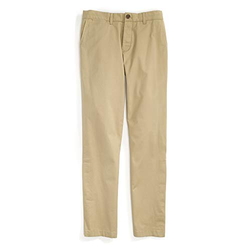 Tommy Hilfiger Men's Adaptive Chino Pants with Adjustable Waist and Magnets, MALLET, 36