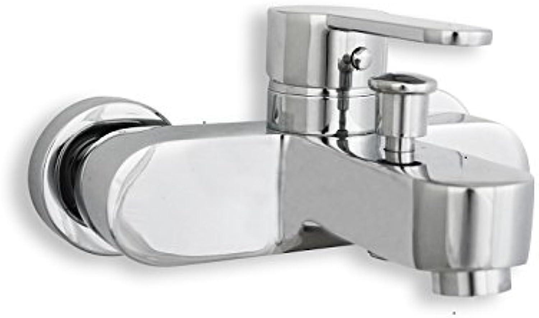 Ecl griferias eclp02?°C Mixer Tap Bathtub, Silver