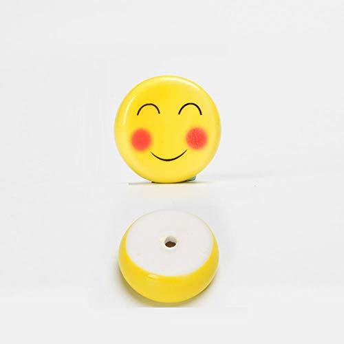 JLCK Soportes de cerámica para Palillos, 10 Piezas Soporte para Palillos Expresión Japonesa Palillos Cuchara Soporte Tenedor Vajilla Accesorio de Cocina-Agradable 10 Piezas