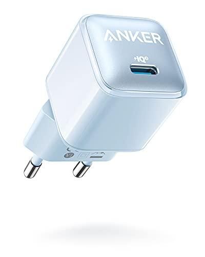 Anker Cargador 511 (Nano Pro) 20 W PIQ 3.0 Cargador rápido Compacto...