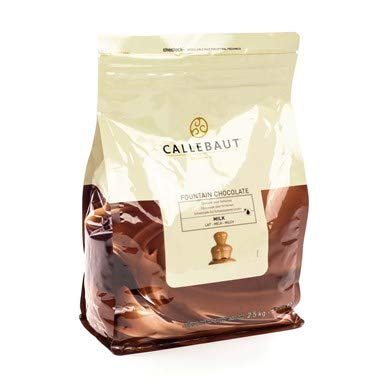 Callebaut Milk Fountain Chocolate 5.5 Lb (2 Pack)