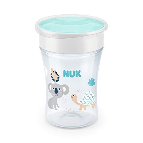 NUK Magic Copo Antivazamento 360° Boy, 230 ml, Azul