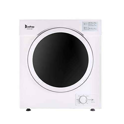 Household Clothes Dryer 5.5 Kg Tumble Dryer 1 Filter Mesh Cotton White Wall-Mounted Clothes Quick Dryer Shipped from Local Warehouse in The United States