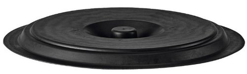 Stefanplast Couvercle pour 50–70 Litre Drum, Noir