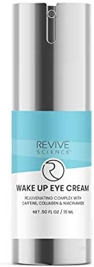 Revive Science Eye Cream with Collagen Caffeine Niacinamide for Dark Circles Puffiness Wrinkles product image