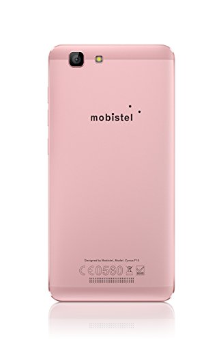 Mobistel G105-P Cynus F10 12,7 cm (5 Zoll) Smartphone (1,3 GHz QC, 16GB, DS, LTE, Android 5.0) Rose