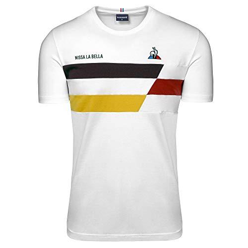 Le Coq Sportif Tdf 2020 Fanwear Tee Ss Nr. 2 M T-Shirt für Herren S New Optical White