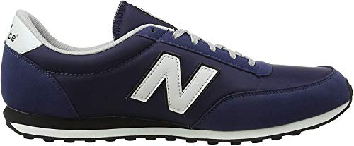 New Balance 410, Zapatillas para Hombre, Azul (Navy/White Orange), 43 EU