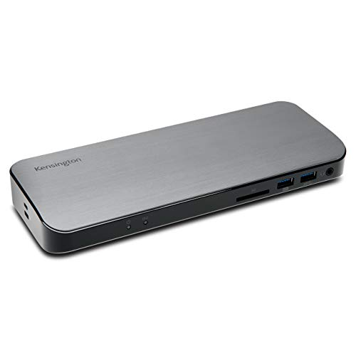 Kensington - New Thunderbolt 3 Docking Station SD5300t - SD Card Reader, 135W and Dual 4K for Mac and Windows (K38625US)