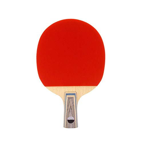 Decoración de muebles Raqueta de tenis de mesa Ping Pong Paddle Tipo de fibra de carbono Competencia profesional Raquetas de alta elasticidad Single Shot Pro Premium (Color: Multicolor Tamaño: 15x2