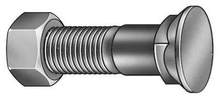 3//8-16 x 1-1//2 Hard-to-Find Fastener 014973294274 Grade 5 Plain Plow Bolts Piece-10