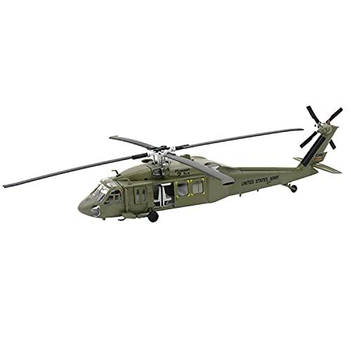 1:72 Helicóptero PREFAB COLECCIÓN PLÁSTICO COMPORTADO PLÁSTICO Black Hawk Control Remoto Helicopter Hobby 1: 2