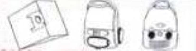 Bolsa para aspirador 1 filtro para motor para aspiradora Rowenta ...