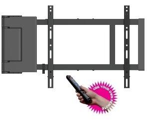 TV Wandhalterung mit Motor und Fernbedienung für TV von 37