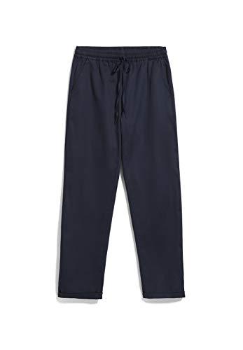 ARMEDANGELS DANIAA - Damen Hose aus Tencel™ Lyocell Mix (Recycled) XL Night Sky Hose Stoffhose Regular fit