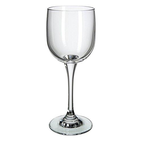 Verre de Bohême Nora Verres à vin Blanc, Verre, 6 x 6 x 17 cm, 6 unités