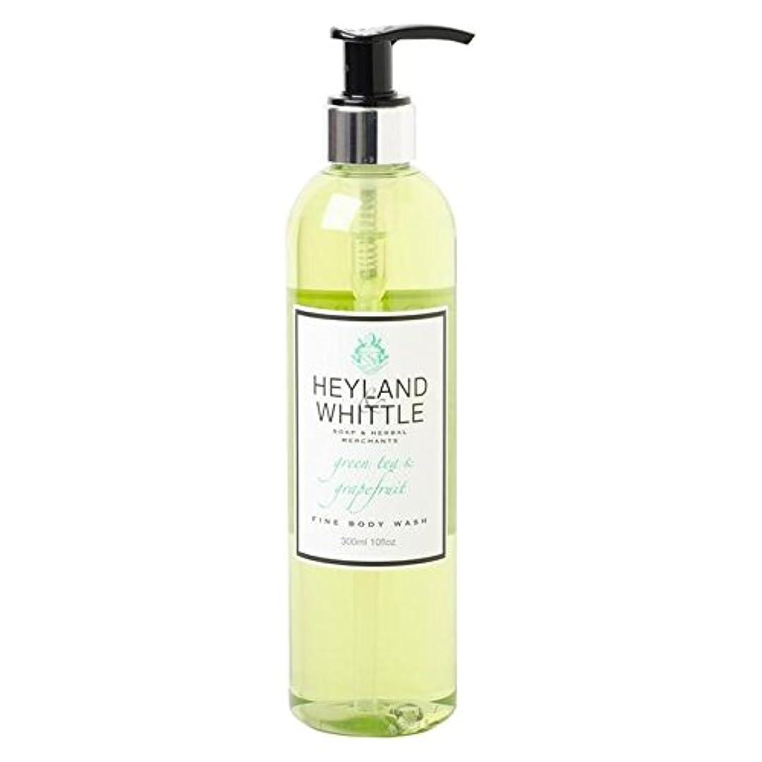 出版専制誘惑Heyland & Whittle Greentea & Grapefruit Body Wash 300ml (Pack of 6) - &削るグリーンティ&グレープフルーツボディウォッシュ300ミリリットル x6 [並行輸入品]