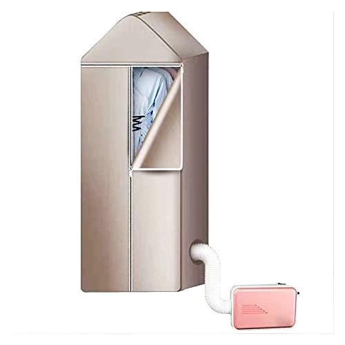 Bospyaf Multifuncional Pequeña Ropa Seca Eléctrica Secadora Calentador Dormitorio Doble Pequeño Secador De Aire Eléctrico Secador,E