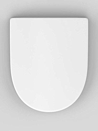 Haro Madeira SoftClose WC-Sitz, weiß, Scharnier Klappdübel C0102G; 530202 - passend für Keramag 4U/iCon