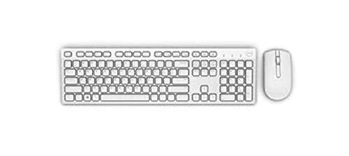 Dell Wireless Keyboard and Mouse KM636 - White - English International Layout 6J7PM