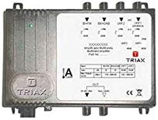 Triax cabeceras - Amplificador multibanda tma 445 lte 1fm+ ...