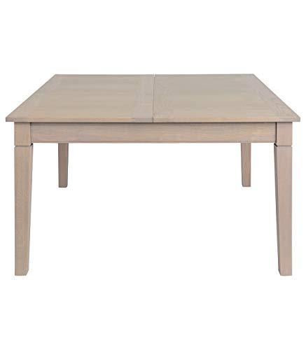 Signature tafel, vierkant, 140 cm, uittrekbaar, eikenhout