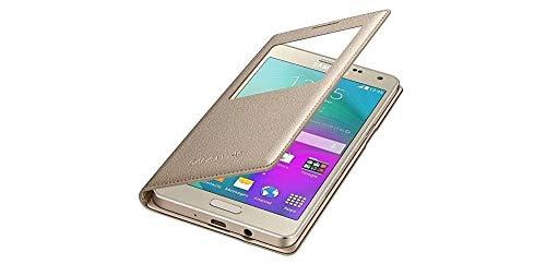 Samsung BT-EFCA500BF Etui S-view pour Samsung Galaxy A5/A500 Or