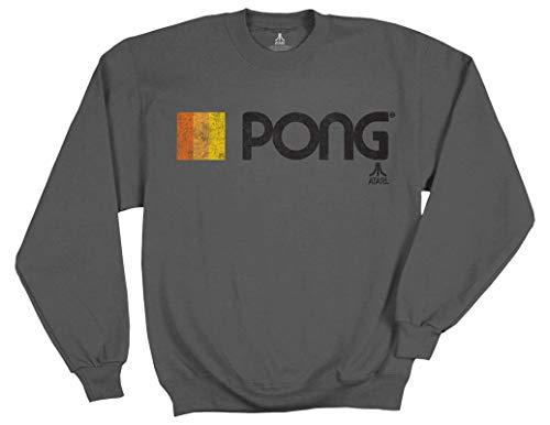 Officially Licensed Atari Pong Sweatshirt for Men, XL, XXL