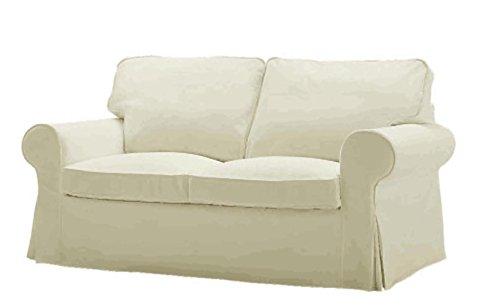 Custom Slipcover Replacement Sostituzione di Copertura Bed Ektorp Divano a Due posti è su Misura per Ikea Ektorp 2 posti Sleeper Solo, Una Sostituzione di qualità Fodera Divano.