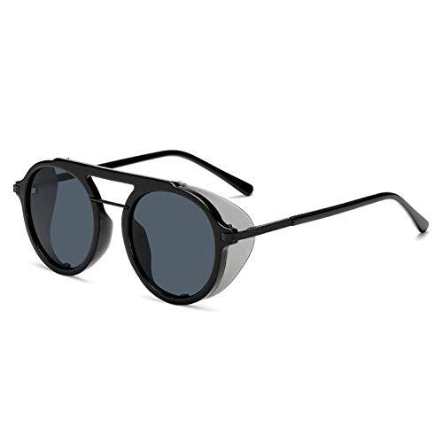 Gafas De Sol Polarizadas Gafas De Sol De Moda con Sombras Redondas Diseñador De La Marca Mujeres Hombres Gafas De Sol Vintage Uv400 Gafas Gafas De Sol 01
