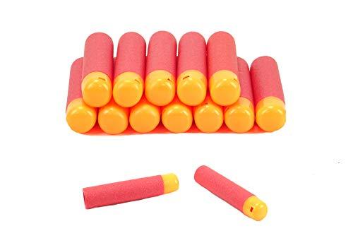 BALLOONSHOP Toyland® - Confezione da 12 - Freccette in espanso Grande da 9,5 cm - Confezione Accessori per Dart Gun