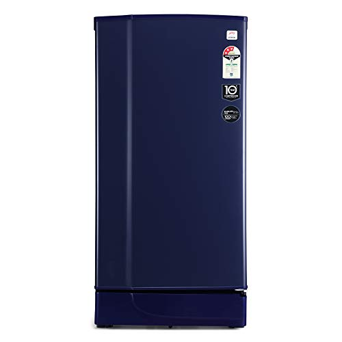 Godrej 190 L 3 Star Direct-Cool Single-Door Refrigerator (RD 1903 EW 3.2, Royal Blue)