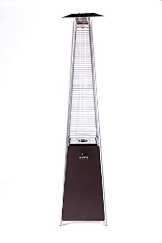 Legacy Heating Bronze Quartz Glass Tube Patio Heater (Mocha)